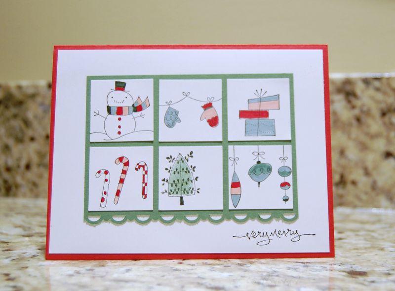 CHRISTMAS CARDS 3020 104