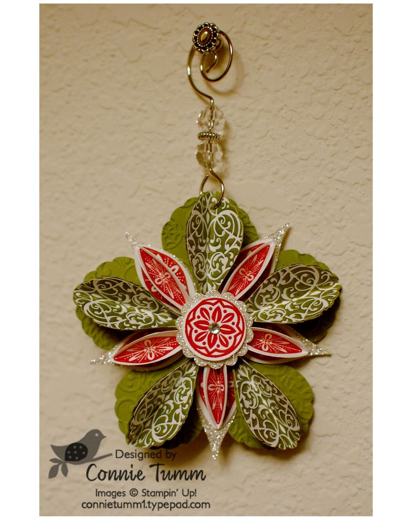 Blossom punch ornament 2-001